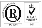 Quality certificate ISO 9001:2015