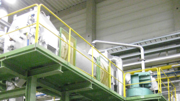 Drying and decoating IDEX®