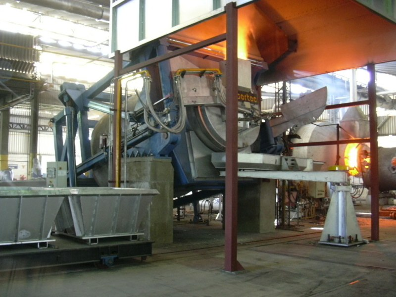 TILTING ROTARY FURNACE — ARE YOU READY FOR THE CHANGE? ↓