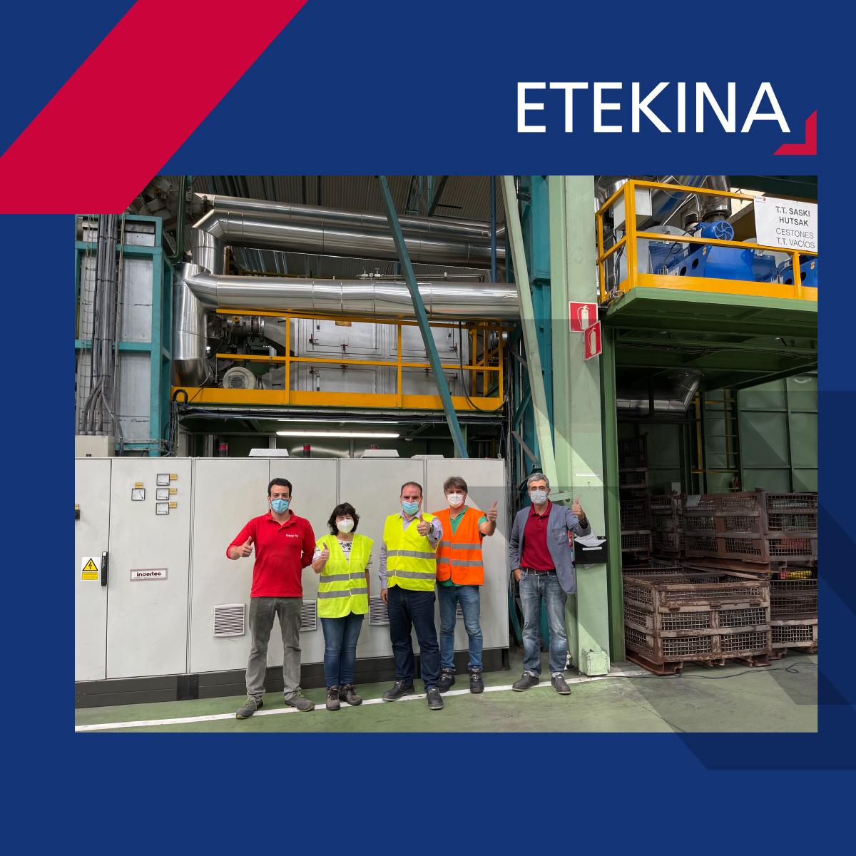 ETEKINA Project: one more step towards energy savings