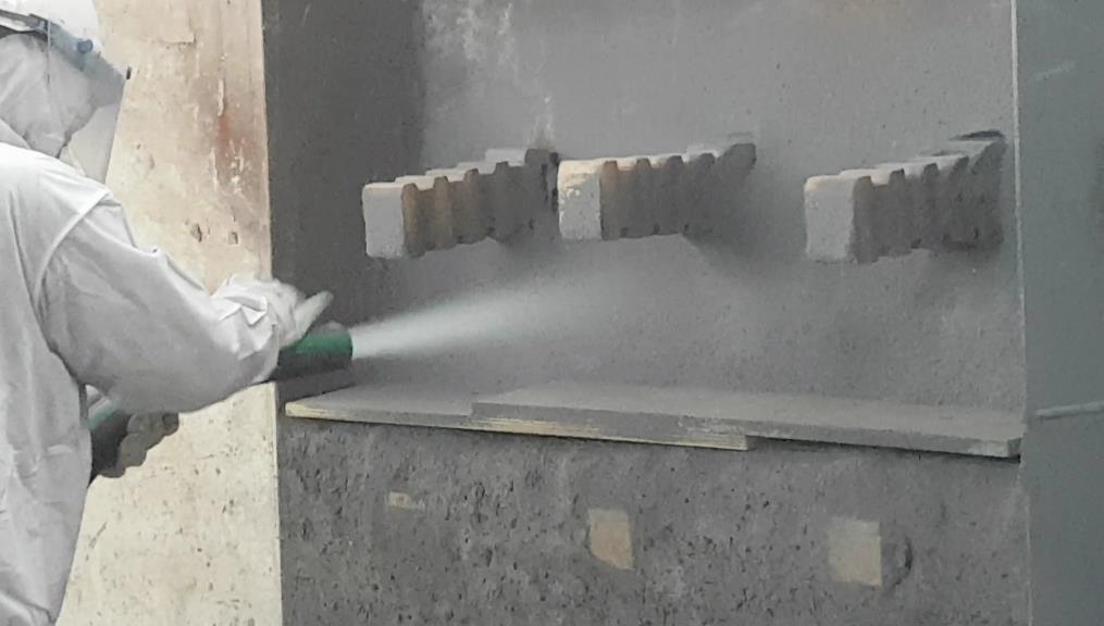 PLASTIGUN. Nuevo concepto para la reparación de revestimientos refractarios.
